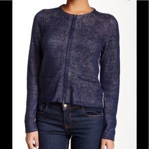 Eileen Fisher Linen Blend Double Knit Jacket 1x
